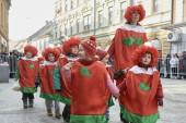Vesele maškare Slovenije - otroška povorka na Ptuju