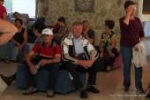 Prihod poslušalcev v Budvo