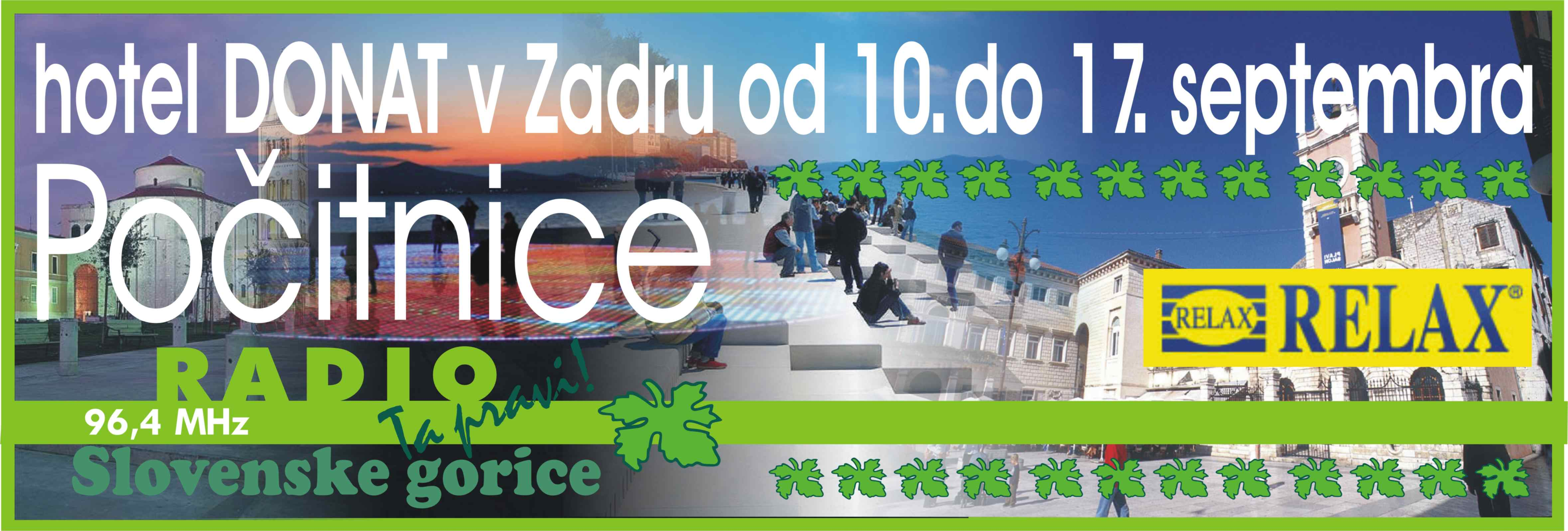 Počitnice od 10. do 17. septembra 2013