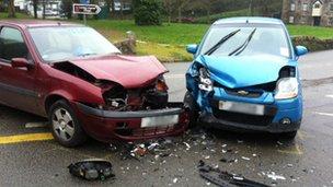 Za prometno nesrečo v Mariboru se išče epilog