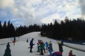 Novozapadli sneg na Mariborskem Pohorju omogočil smučanje na vseh progah