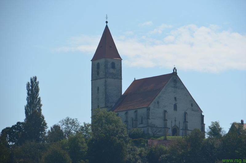Obnovitvena dela na cerkvi Svetih Treh Kraljev v Benediktu