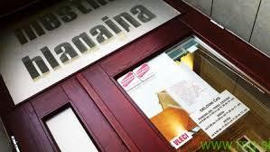 Oropana mestna blagajna v Mariboru danes zaprta