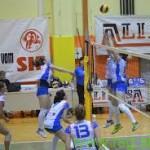 Benediške odbojkarice v Mozirje, košarkarji Ajdas ostajajo na 3. mestu lestvice