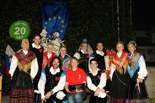 Folklorniki iz Buenos Airesa v Jurovskem Dolu