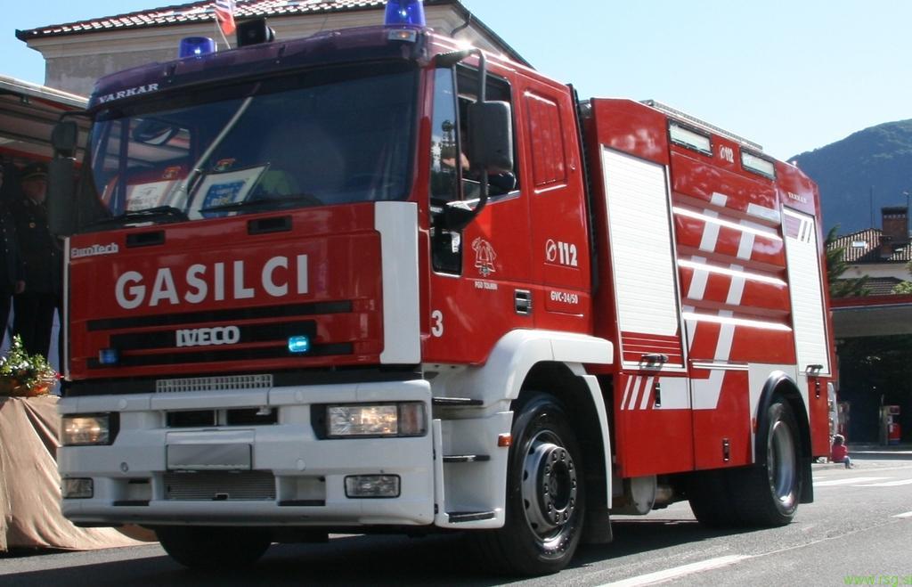 Gasilska zveza Slovenske gorice z novim vozilom
