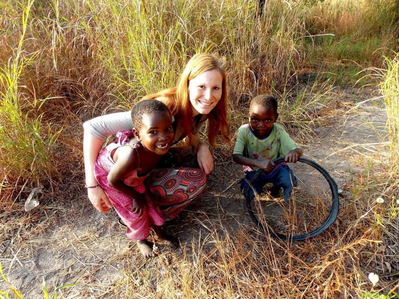 FOTO: Prostovoljki o delu z otroci v Malawiju