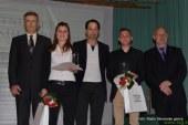 FOTO: Tanja Vrabel in Tadej Verbošt naj športnica in športnik Slovenskih goric