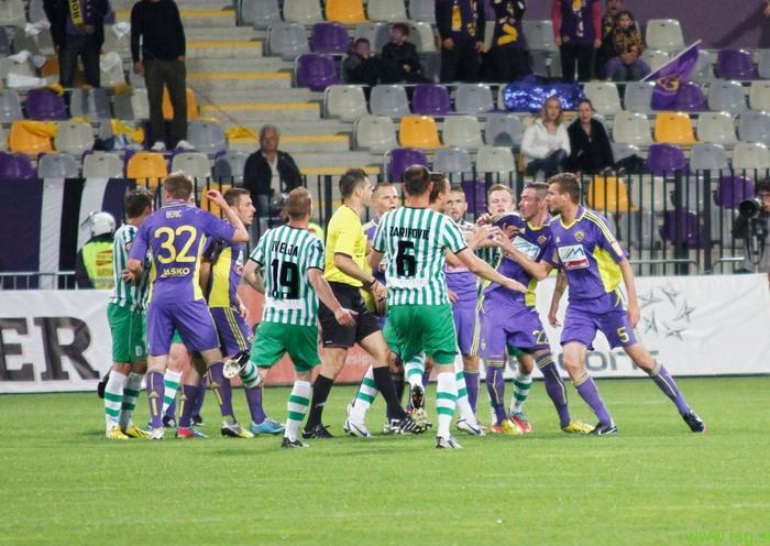 Obeta se derbi med Mariborom in Olimpijo