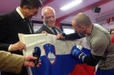 Pahor in Zavec sta se pomerila v ringu