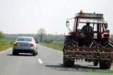 Na cesti pozorno tudi zaradi blata na cestišču