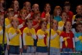 FOTO: Otroški pevski zbor Kamenčki v Lenartu navdušili
