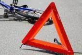 Voznik odpeljal s kraja nesreče, ne da bi nudil pomoč