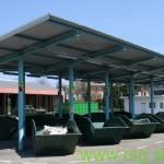 V Trnovski vasi nov zbirni center za odpadke