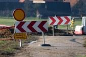 V Gočovi tačas veliko cestno gradbišče