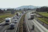 Podravska avtocesta v smeri proti Hrvaški ponovno močno obremenjena