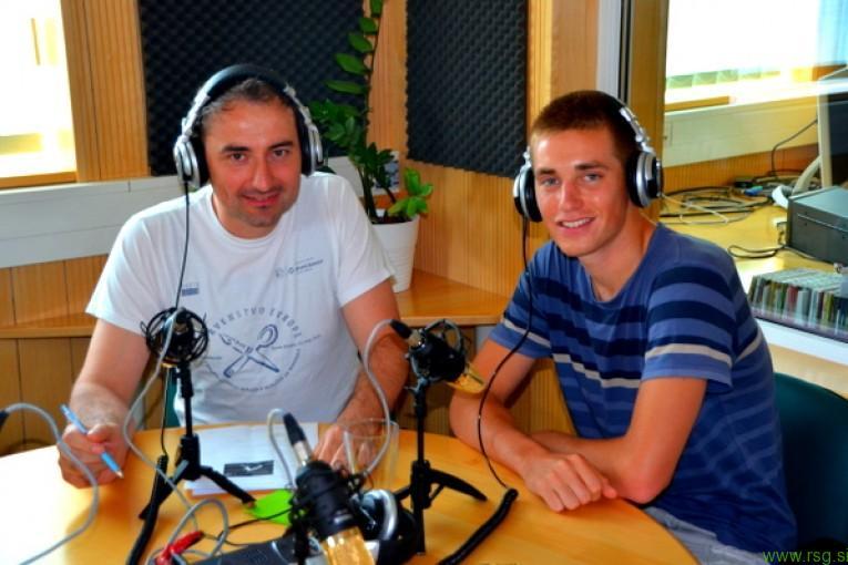 Danes ob 17.00: Ruški triatlonec Matija Meden