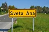 V občini Sveta Ana veliko cestnih gradbišč