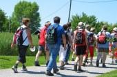 Tradicionalni pohod v Jurovskem Dolu dobro uspel