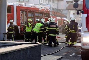 V Apačah taktična vaja gasilskih enot