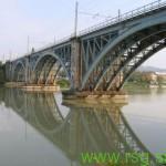 Dela na železniškem mostu v Mariboru končana konec junija