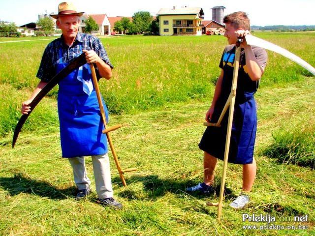 15. Tradicionalno tekmovanje v košnji trave