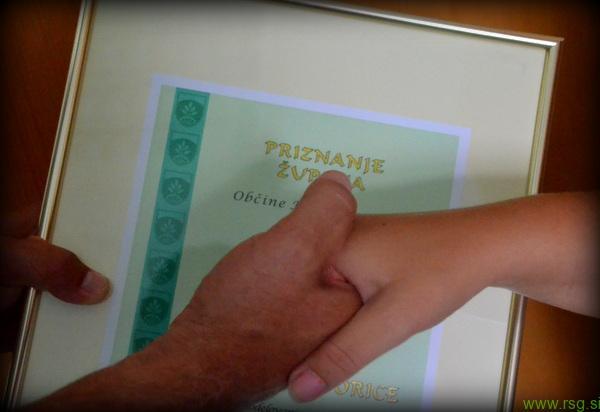 Radio Slovenske gorice prejelo priznanje župana Marjana Žmavca