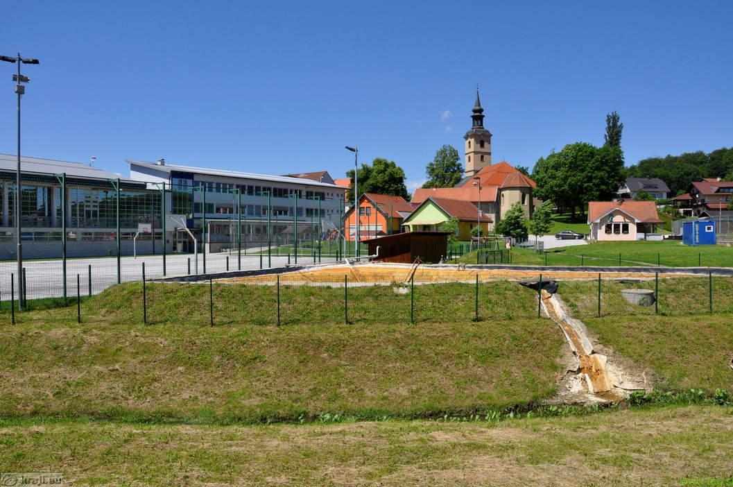 V Benediktu otvorili arheološke ceste in stalne razstave