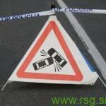 Prometna nesreča v Janževem Vrhu s smrtnim izidom