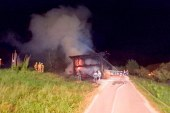 Požar v okolici Slovenske Bistrice povzročil 50 tisoč evrov škode
