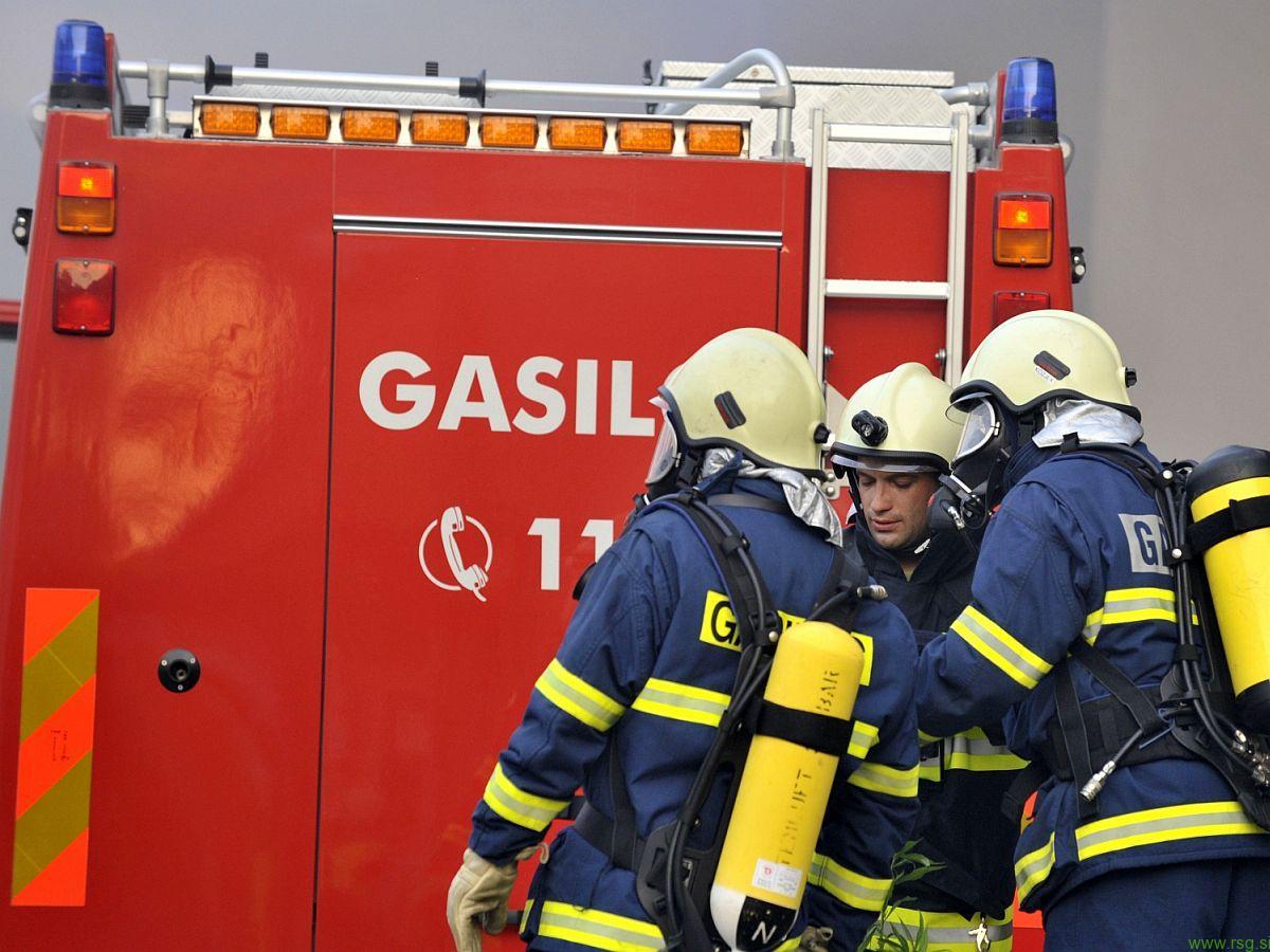 V Brunšviku požar povzročil 15 tisoč evrov škode