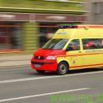 Delovna nesreča v Sv. Trojici s hudimi telesnimi poškodbami