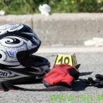 Cesta terjala življenje motorista