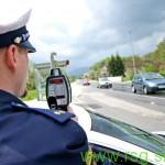 Na podravskih cestah prejšnji teden 498 prehitrih voznikov
