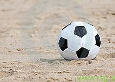 Na tradicionalnem Športnem dnevu v Voličini tudi nogomet na mivki