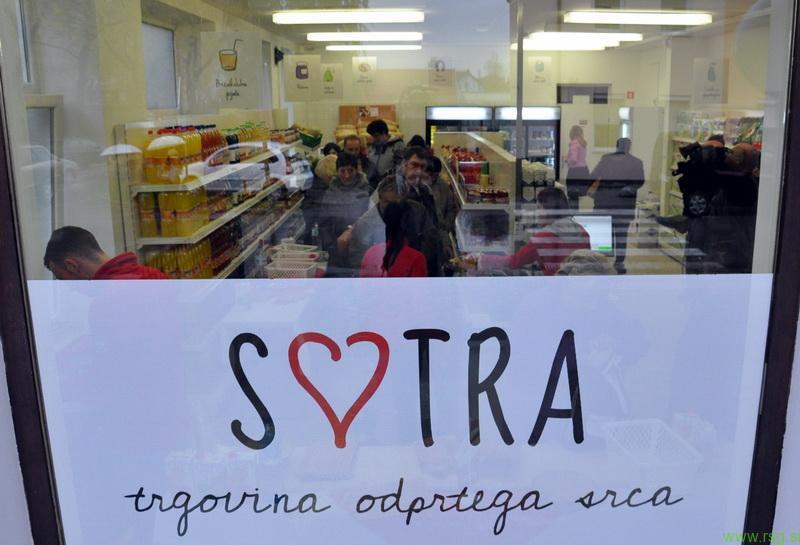Sotra, socialna trgovina v Mariboru nadaljuje z delom