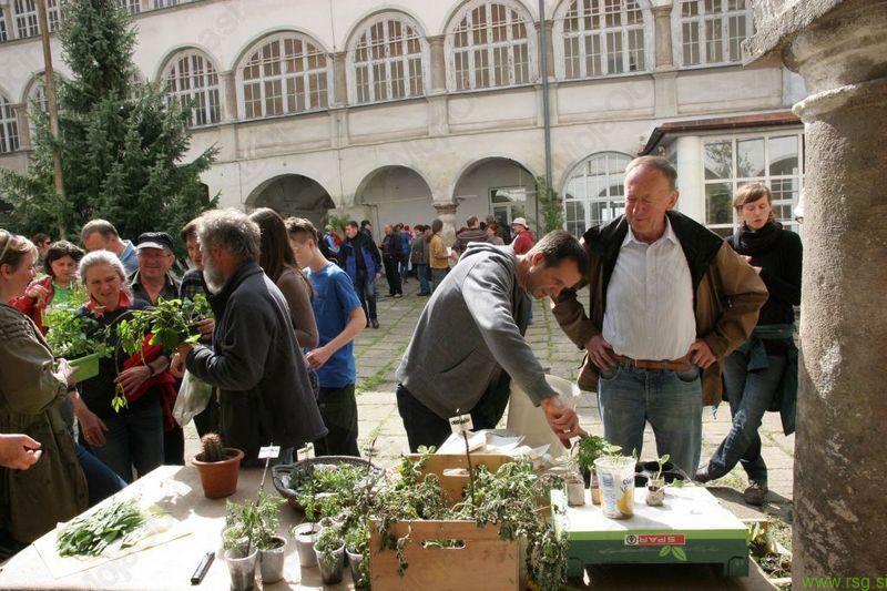 Nora pomladna izmenjava sadik in semen na gradu Cmurek