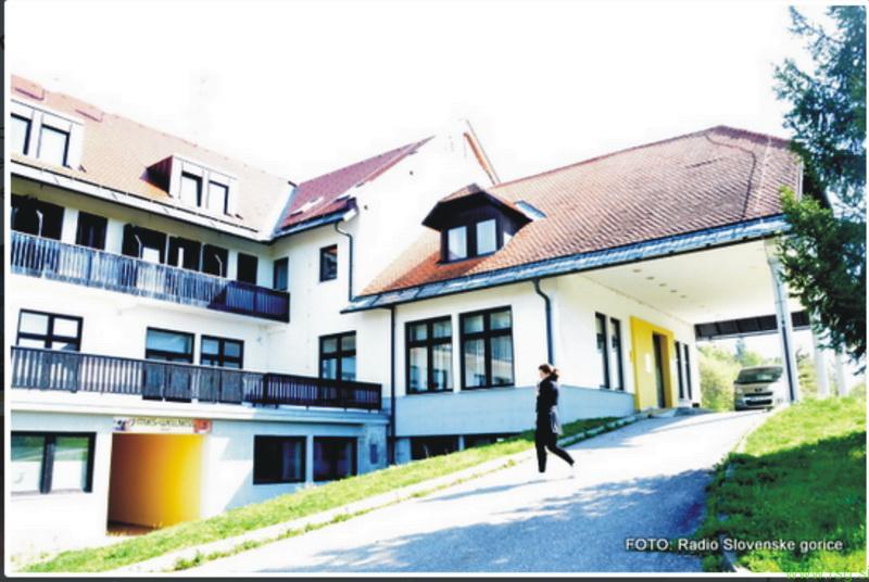 Nekdanji hotel Črni les kmalu Dom sv. Agate