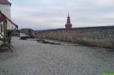 Obnova opornega zidu na Ptujskem gradu končno stekla