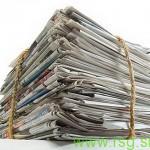 V Pesnici zbirajo star papir in sodelujejo v akciji Drobtinica