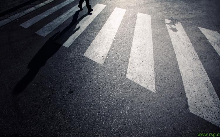 Večja varnost pešcev v prometu