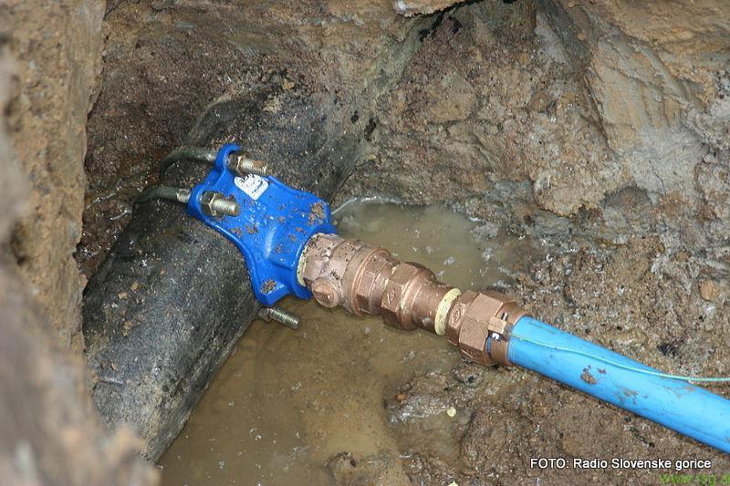 Novo vodovodno omrežje v Dvorjanah