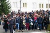 Dnevno v Gornji Radgoni okrog tisoč beguncev