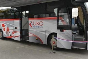 Avtobus za odvzem krvi – UKC Maribor