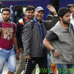Prihod beguncev v Šentilj in Gornjo Radgono