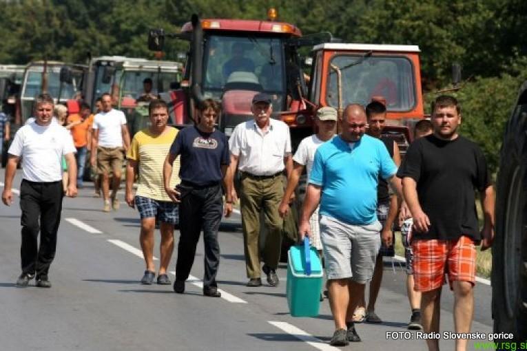 Za 17. oktober napovedan vseslovenski shod kmetov