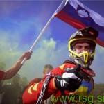 Tim Gajser iz štajerske vasi Pečke je najboljši motokrosist na svetu