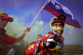 Svetovni prvak, motokrosist Tim Gajser, za zadnji tekmi tretji
