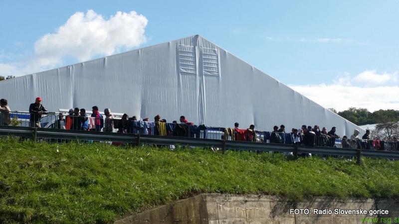 V Šentilju in Gornji Radgoni novi migranti