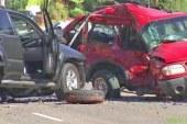 Hujša prometna nesreča v Lormanju